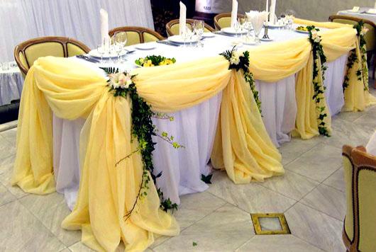 Свадебное оформление зала в разделе